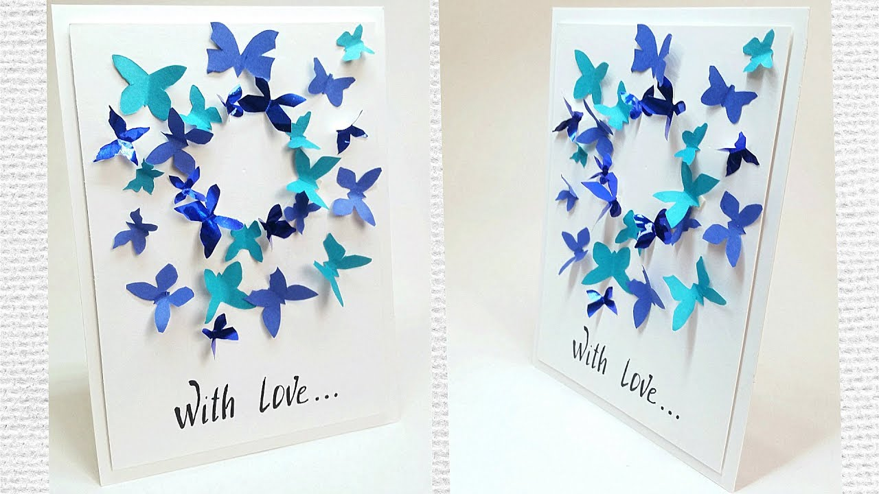 diy birthday card tutorial