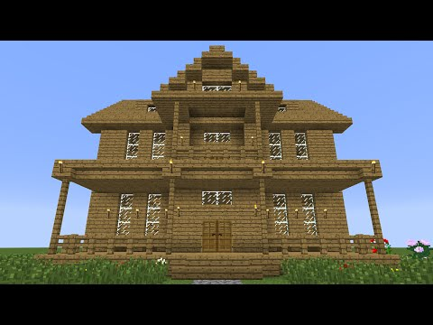 minecraft 360 modern house tutorial house number 4