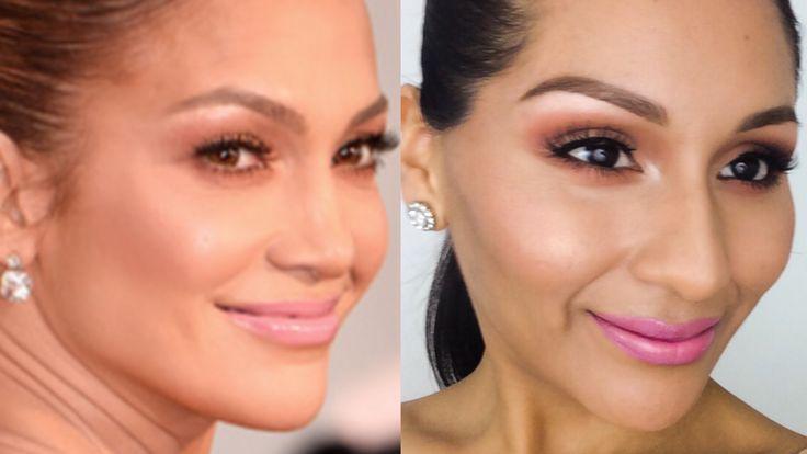 jennifer lopez eye makeup tutorial