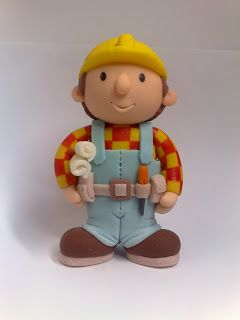 bob the builder fondant tutorial