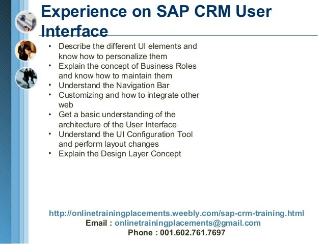 sap crm tutorial for beginners