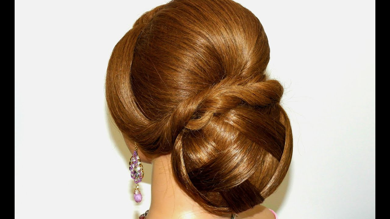 hair bun tutorial long hair