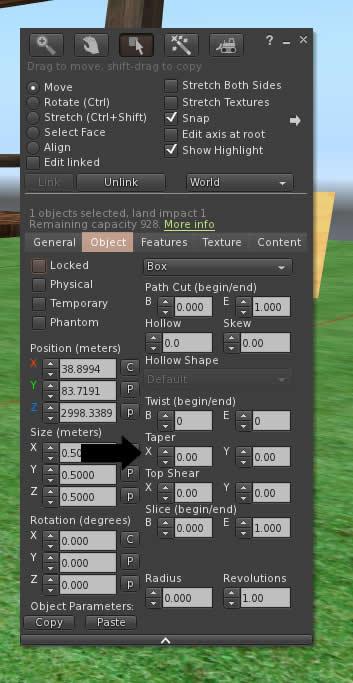 second life building tutorial