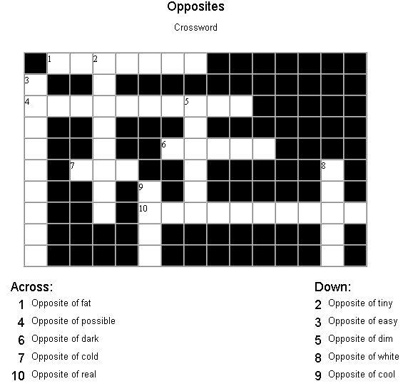 free training tutorial crosswords