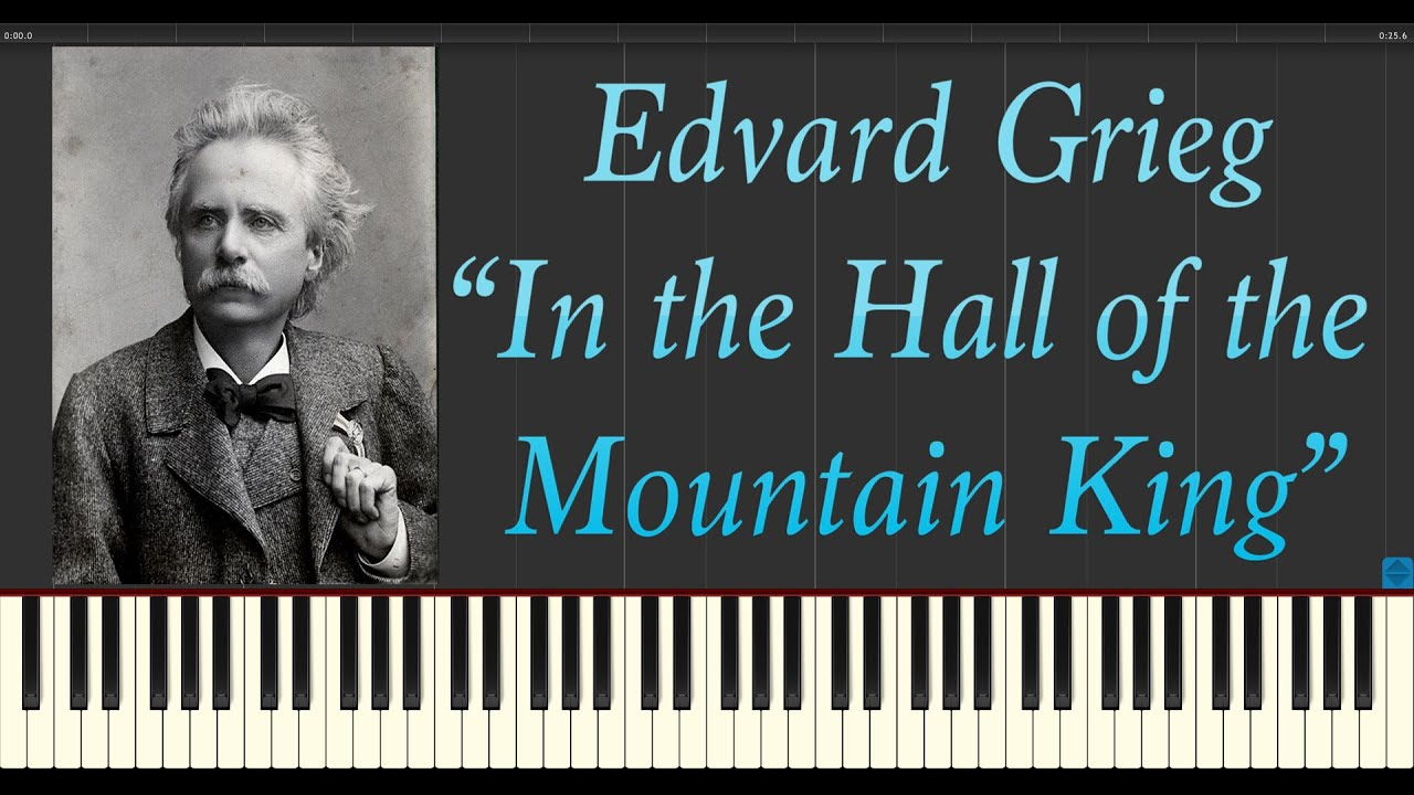 in the hall of the mountain king piano tutorial