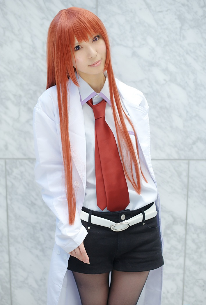 makise kurisu cosplay tutorial