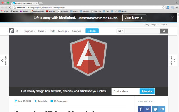 angularjs tutorial step by step