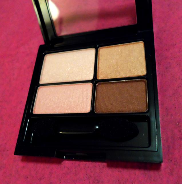 revlon colorstay eyeshadow quad tutorial