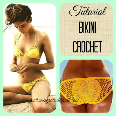 how to crochet bikini tutorial