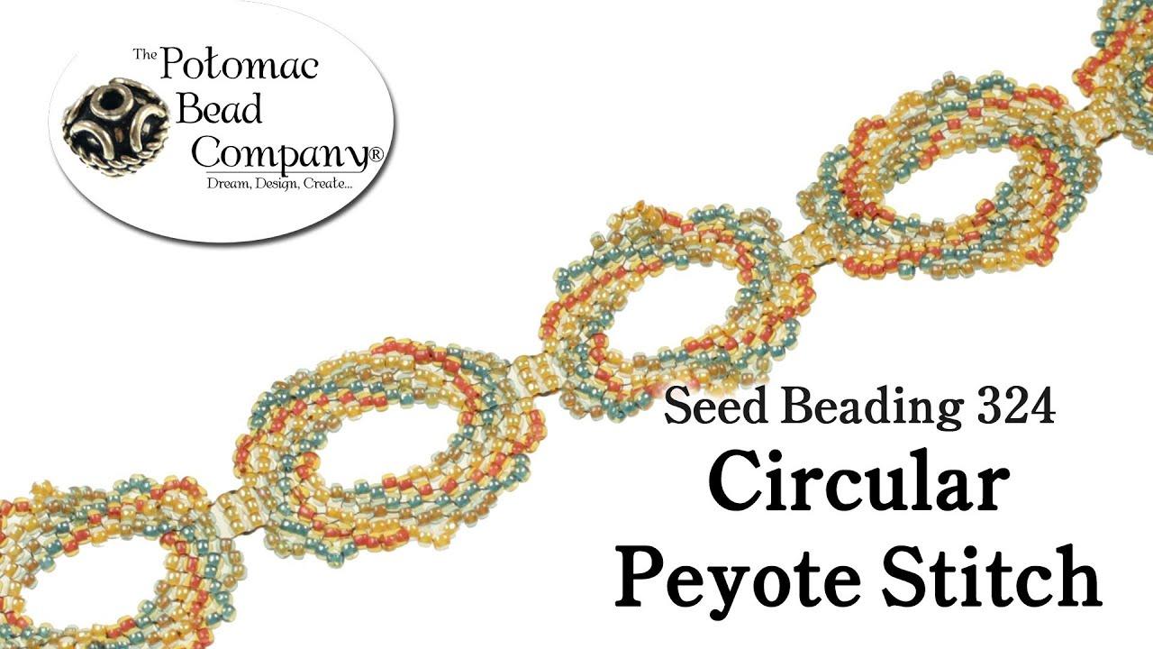 peyote stitch tutorial youtube