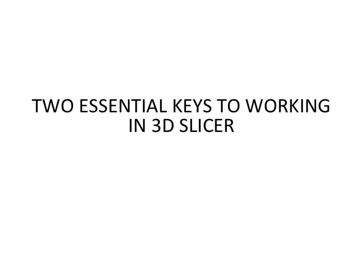 3d slicer tutorial pdf