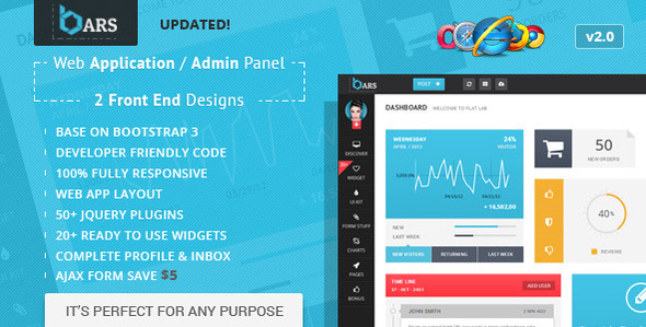 bootstrap 3 admin template tutorial