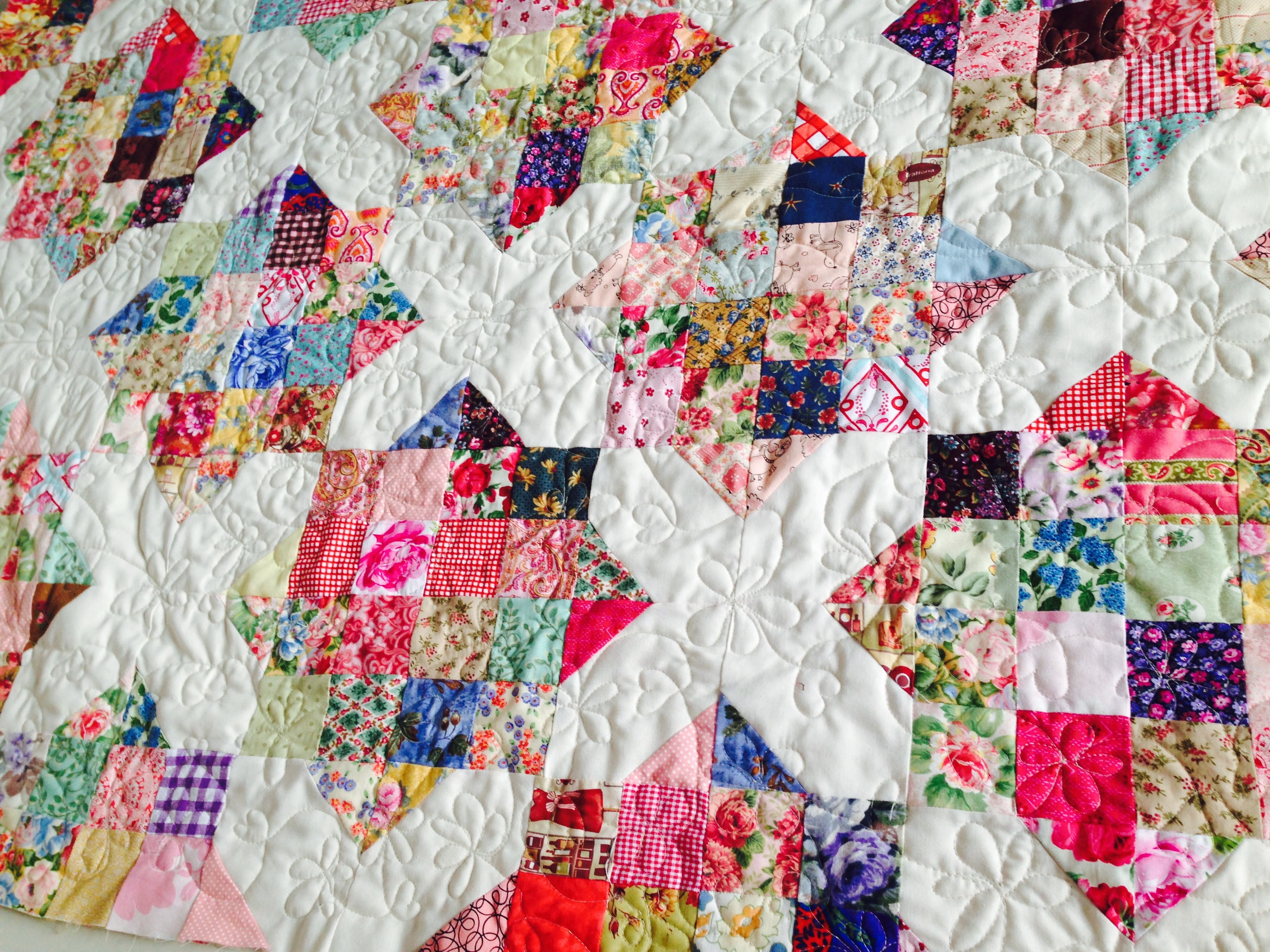 9 patch quilt block tutorial