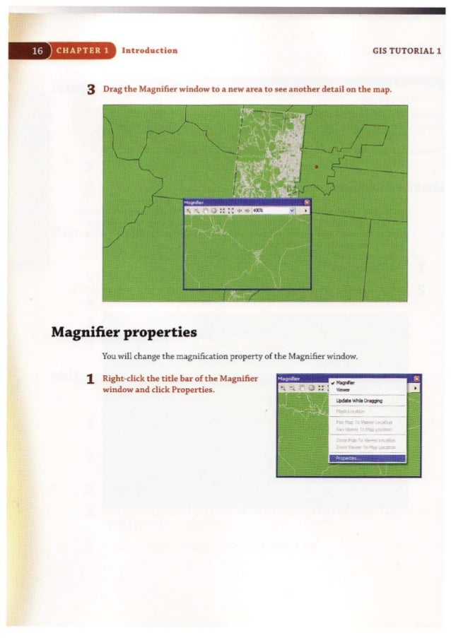 gis tutorial 1 basic workbook