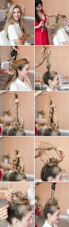 best messy bun tutorial