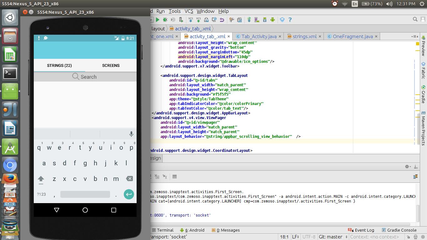 android studio widget tutorial