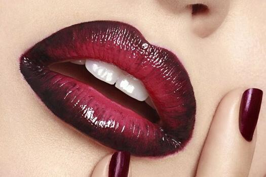 lipstick tutorial for dark lips