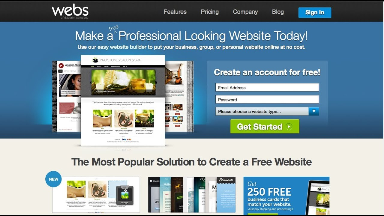 website creation tutorial for beginners