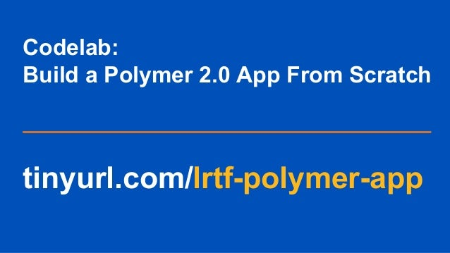 progressive web apps tutorial pdf