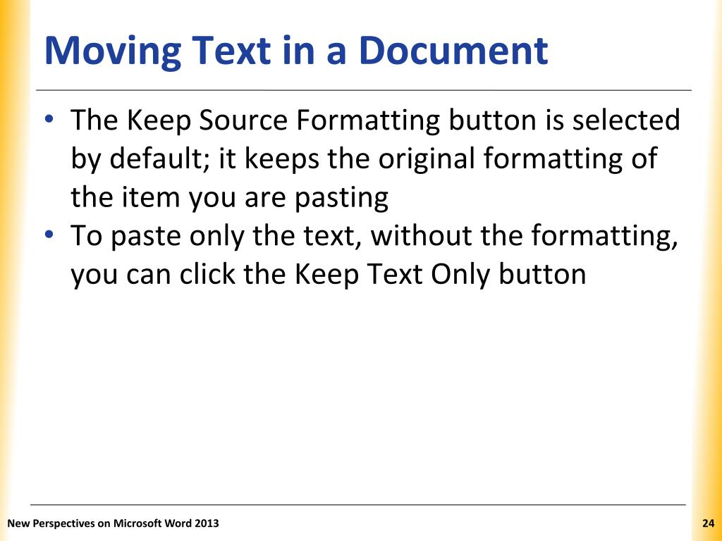 ms word tutorial ppt