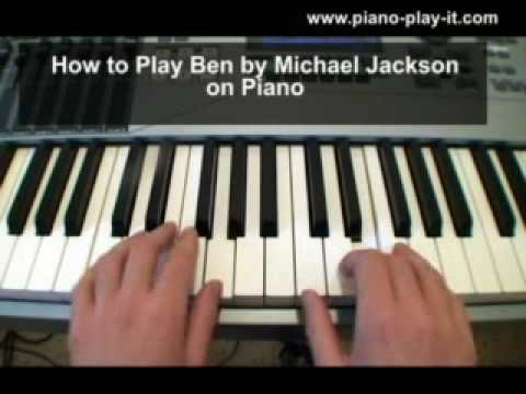 michael jackson piano tutorial
