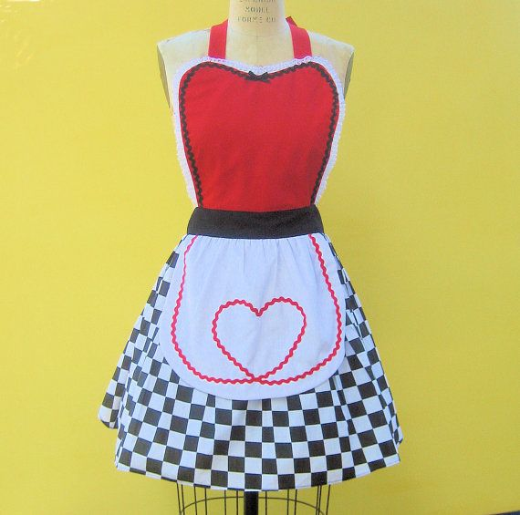 alice in wonderland apron tutorial