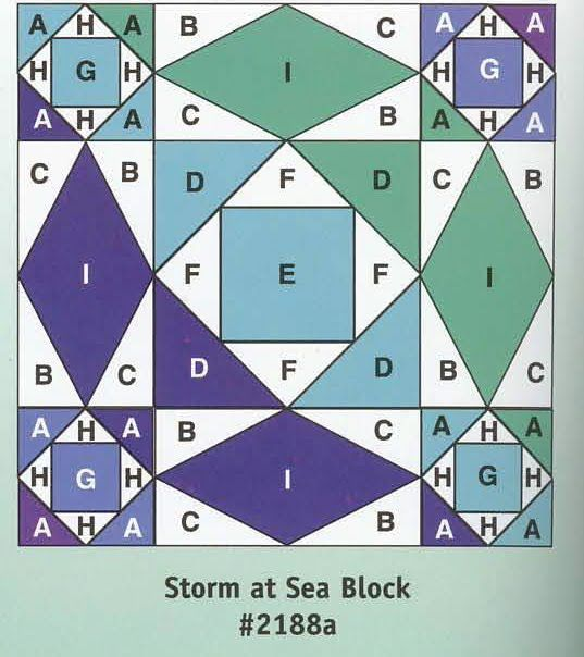 storm at sea quilt tutorial
