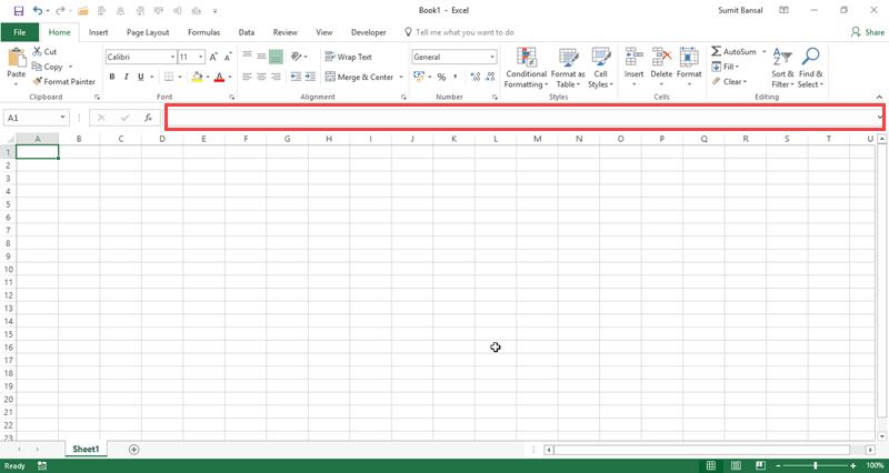 basic excel formulas tutorial