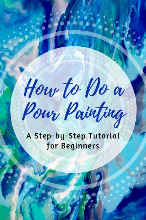 acrylic abstract painting tutorial for beginners