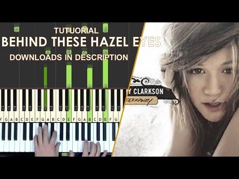 kelly clarkson behind these hazel eyes guitar tutorial