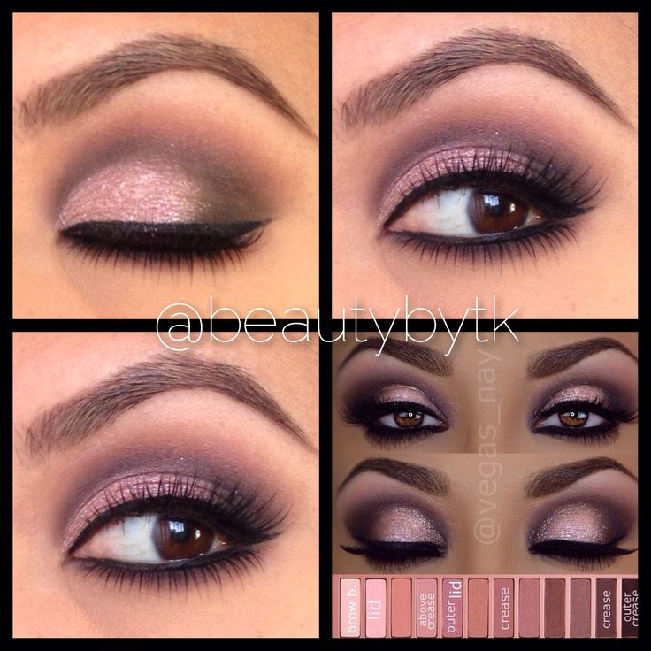 urban decay eyeshadow palette tutorial