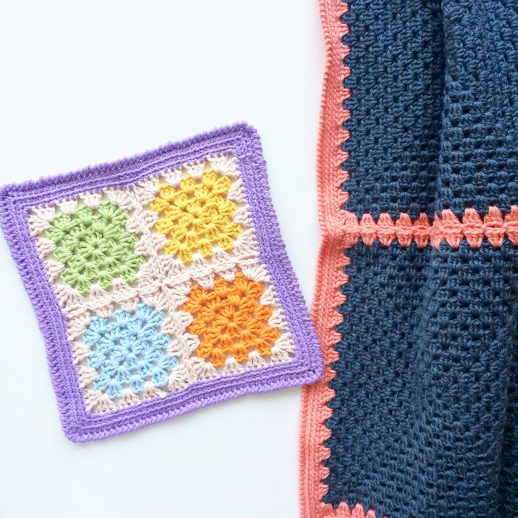 simple granny square tutorial