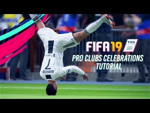 fifa 18 celebration tutorial