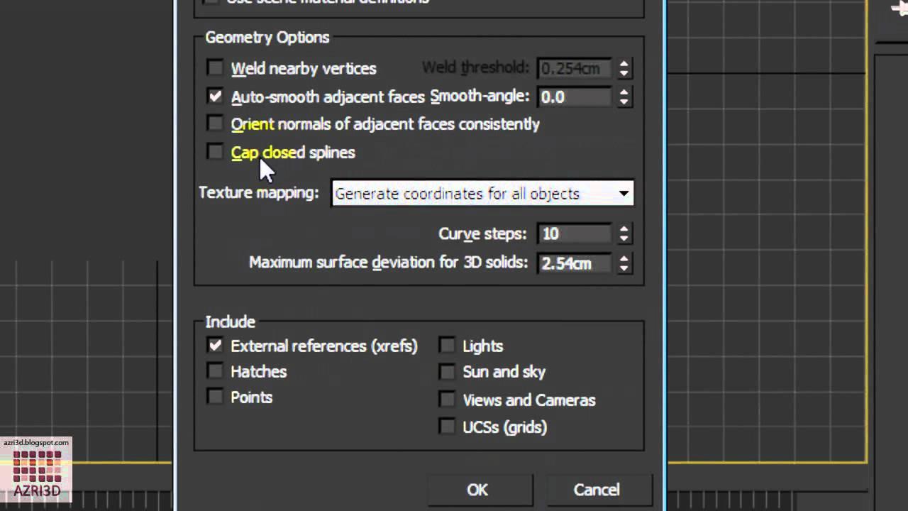 autocad 3d max tutorial