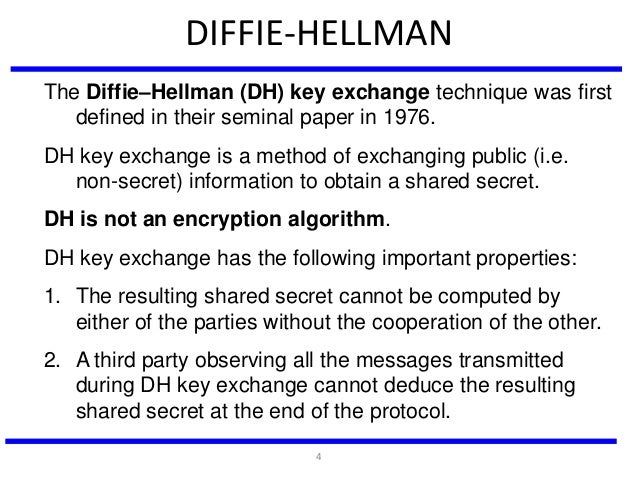 diffie hellman key exchange tutorial