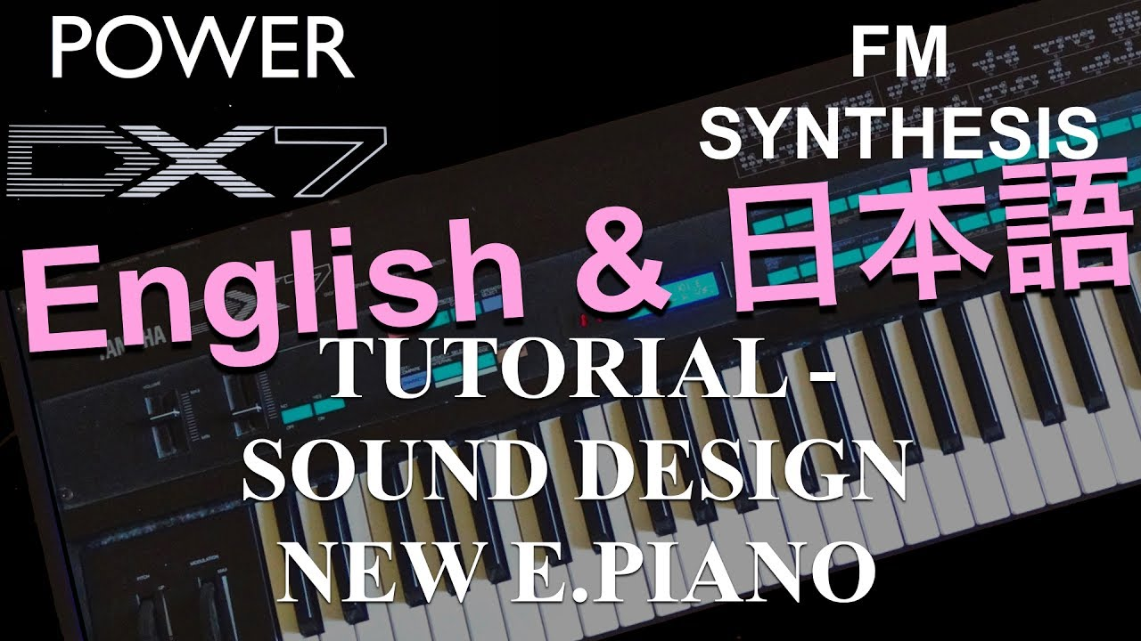 synth sound design tutorial