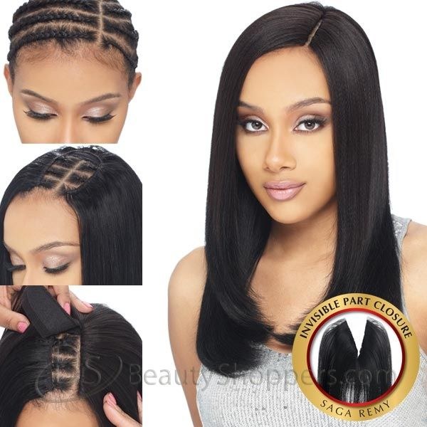 invisible part wig tutorial