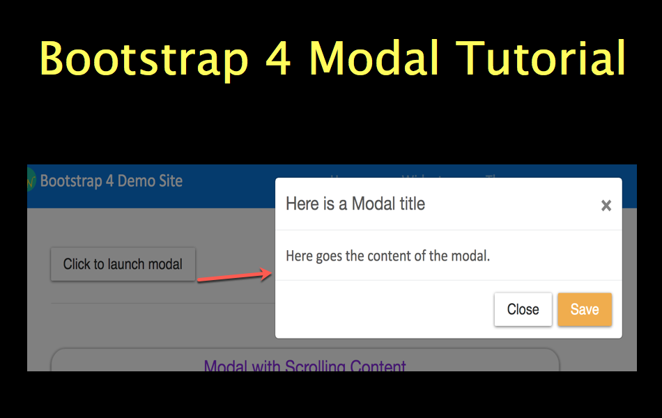 bootstrap tutorial with examples