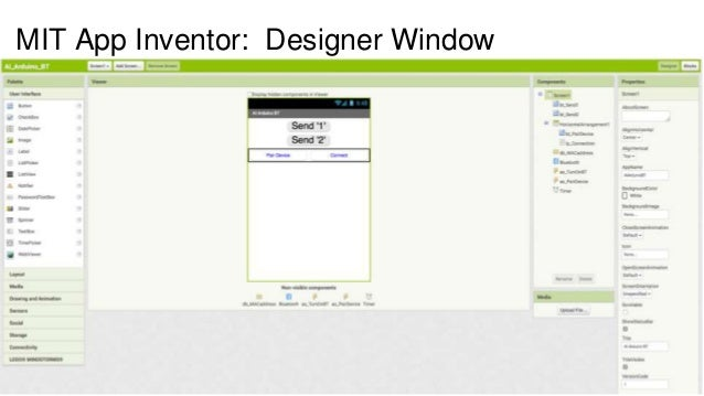 mit app inventor bluetooth tutorial