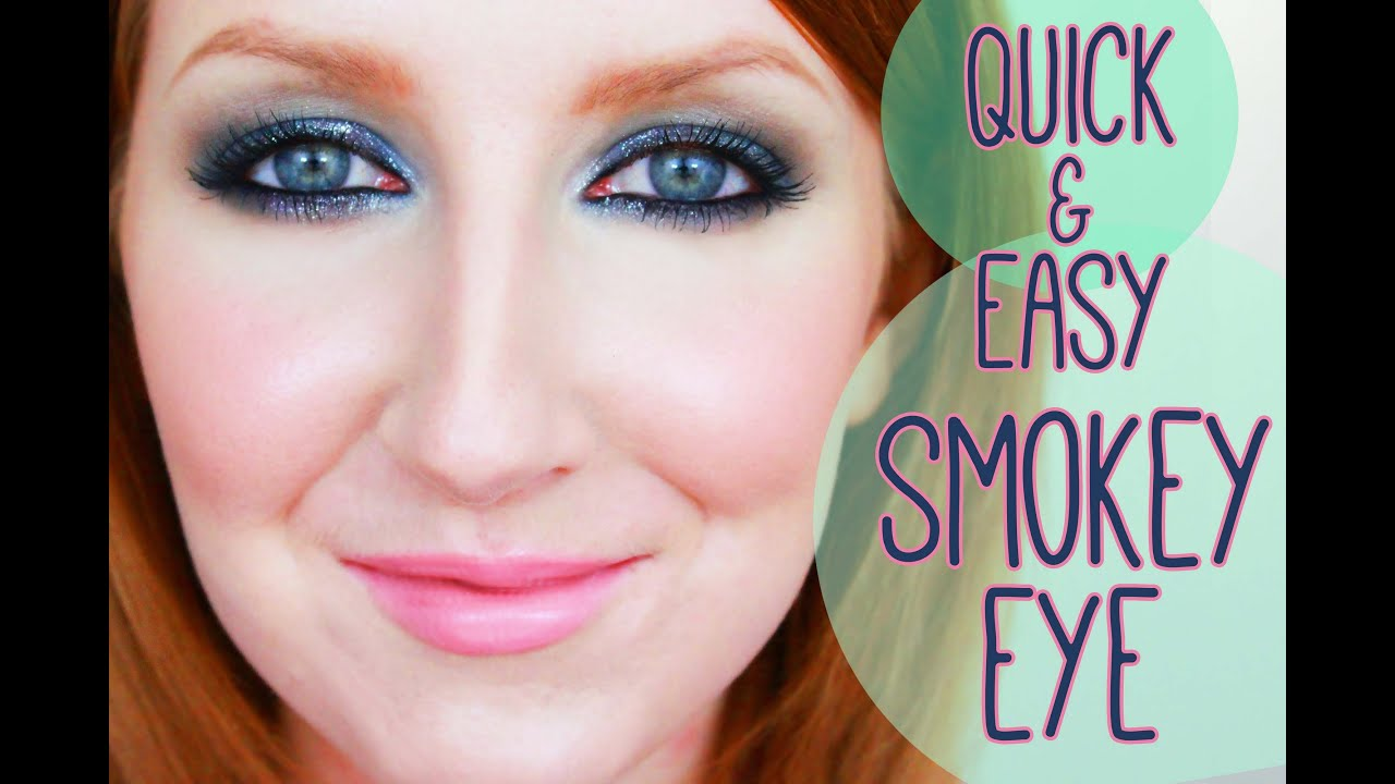 quick and easy smokey eye makeup tutorial