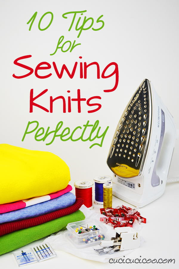 sewing with knits tutorial