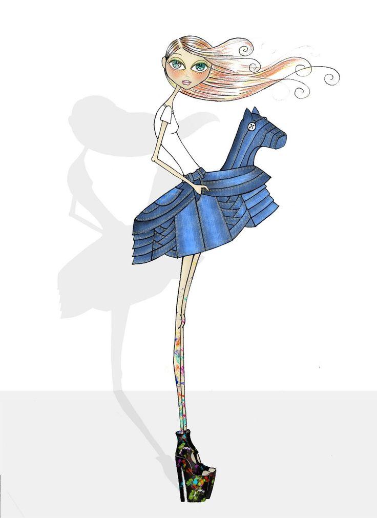 watercolour fashion illustration tutorial
