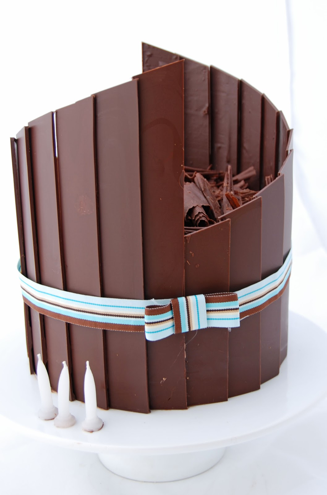 chocolate shard cake tutorial