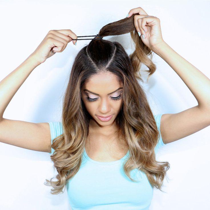 ariana grande ponytail tutorial