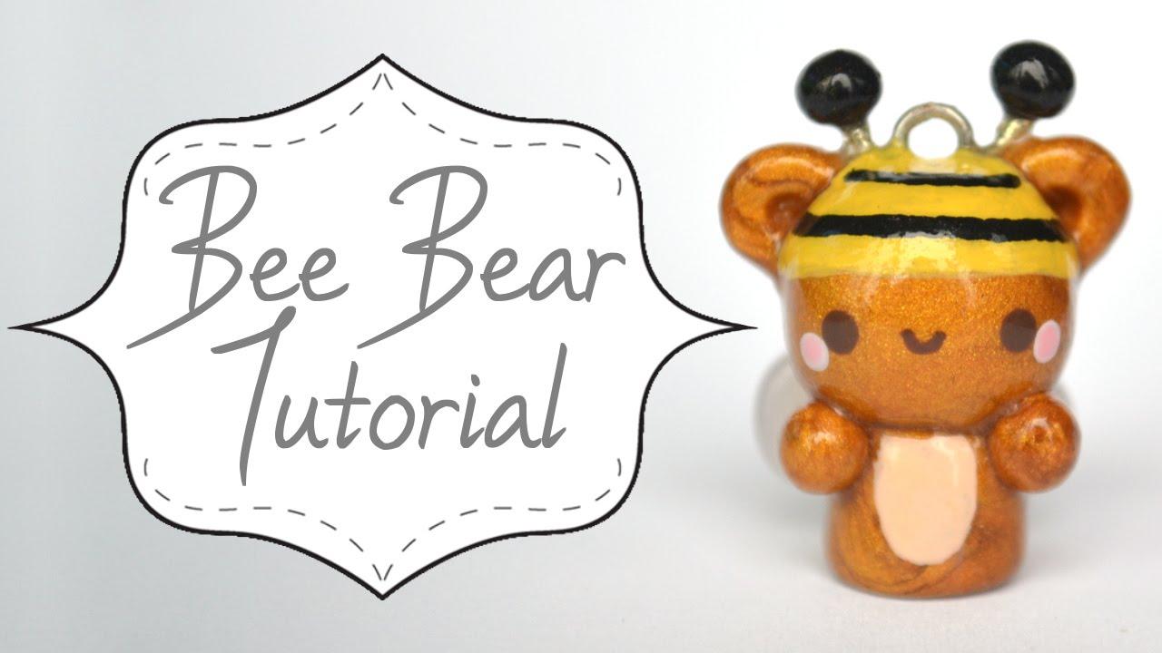polymer clay bear tutorial
