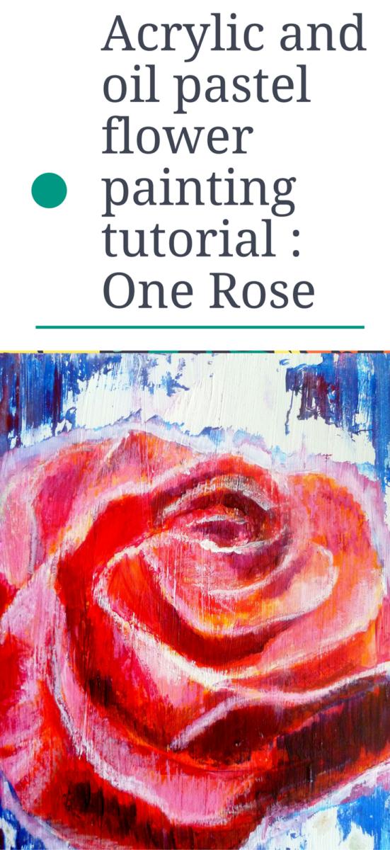 oil pastel drawing tutorial