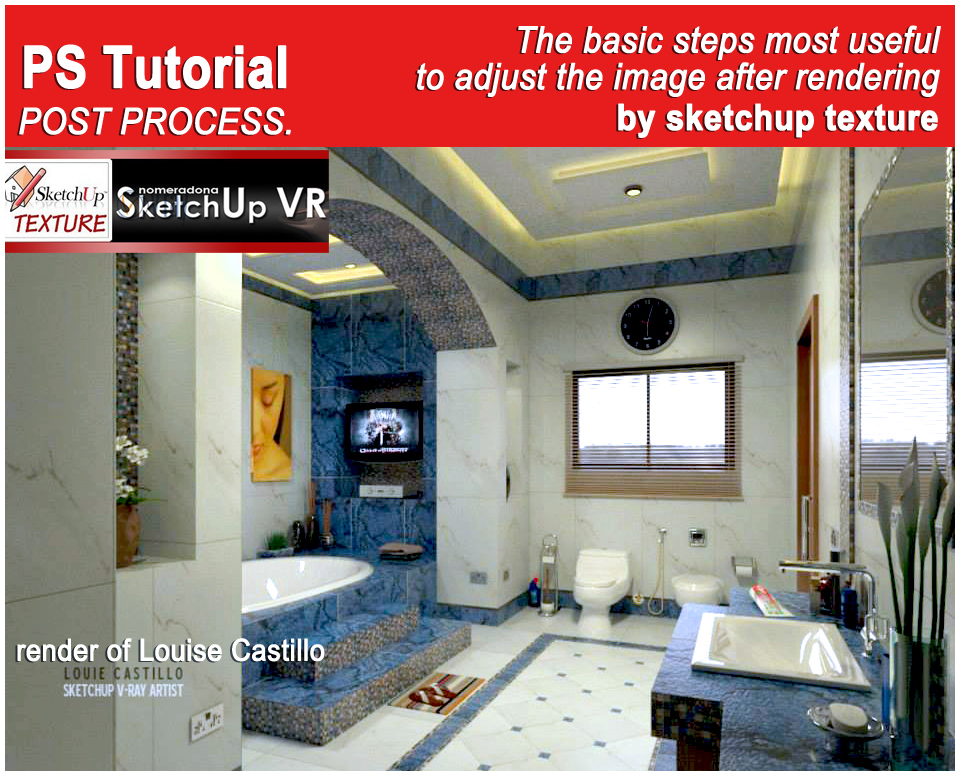 sketchup rendering tutorial pdf