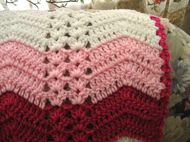 double crochet afghan tutorial