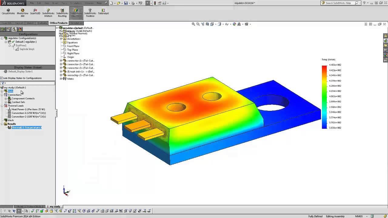 ansys thermal analysis tutorial