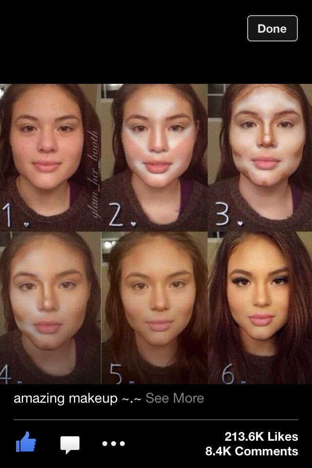 makeup tutorial for round face
